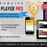 [Download Free] Responsive HTML5 Audio Player PRO v2.4.2 - WordPress Plugin