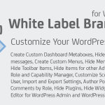 [Download Free] White Label Branding for WordPress v4.2.0