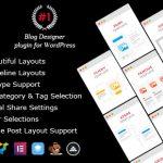 [Download Free] Blog Designer PRO for WordPress v2.1
