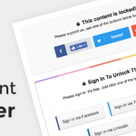 Download Free Content Locker Pro v1.0.14 – Premium WordPress Plugin