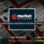 Download Free eMarket v1.4.0 - The eCommerce & Multi-purpose MarketPlace