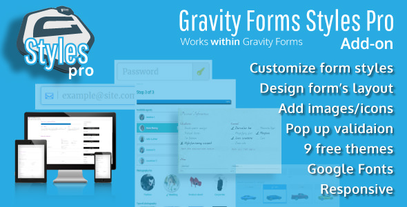 Download Free Gravity Forms Styles Pro Add-on v2 4 2 - Crack Themes