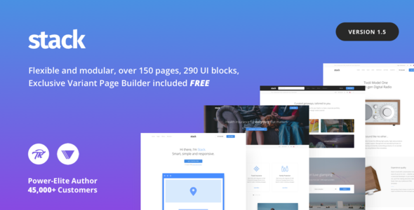 Download Free Stack v10 5 14 - Multi-Purpose Theme with