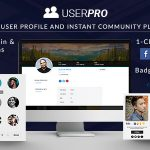 Download Free UserPro v4.9.25 - User Profiles with Social Login