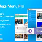 Download Free WP Mega Menu Pro v1 1 2 - Responsive Mega Menu