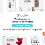 Download Free Xtocky v1.1.6 - WooCommerce Responsive Theme