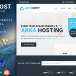 Download Free Arka Host v5.2 - WHMCS Hosting, Shop & Corporate Theme