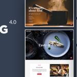 Download Free BERG v4.2 - Restaurant WordPress Theme