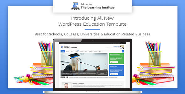 Download Free Edmento V1 1 Education Wordpress Theme Crack Themes