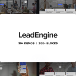 Download Free LeadEngine v1.7.1 - Multi-Purpose Theme with Page Builder