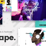 Download Free Mixtape v1.3 - Music Theme for Artists, Bands, and Festivals