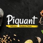 Download Free Piquant v1.4.1 - A Restaurant, Bar and Café Theme