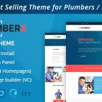 Download Free Plumber v2.52 - Construction and Repairing WordPress Theme