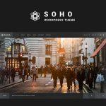 Download Free SOHO v2.6.5 - Fullscreen Photo & Video WordPress Theme
