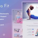 Download Free Yoga Fit v1.1.8 - Sports, Fitness & Gym WordPress Theme