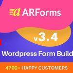 Download Free ARForms v3.4.3 - WordPress Form Builder Plugin