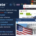 Download Free Candidate v5.0 – Political/Nonprofit WordPress Theme