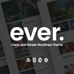 Download Free Ever v1.2.3 - Clean and Simple WordPress Theme