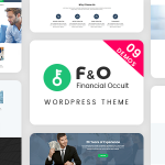 Download Free F&O v1.1.7 - Consultant Finance WordPress Theme