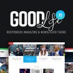 Download Free GoodLife v3.2.8 - Responsive Magazine Theme