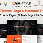 Download Free Gym Edge v3.1 – Gym Fitness WordPress Theme