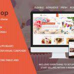 Download Free Justshop v8.1 - Cake Bakery Restaurant WordPress Theme