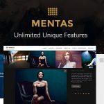 Download Free Mentas v2.2.8 - Creative Portfolio for Freelancer & Agency
