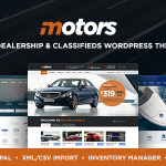 Download Free Motors v4.1.2 - Automotive, Cars, Vehicle, Boat Dealership