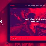 Download Free Muzak v5.3.1 - Music WordPress theme