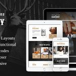 Download Free OldStory v1.7 - Whisky Bar | Pub | Restaurant WP Theme