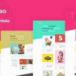 Download Free Qusq Pro v1.5 – Flat Colorful Portfolio
