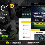 Download Free Soccer v2.6 - Sport WordPress Theme for Football