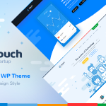 Download Free Utouch v2.0 - Startup Business and Digital Technology