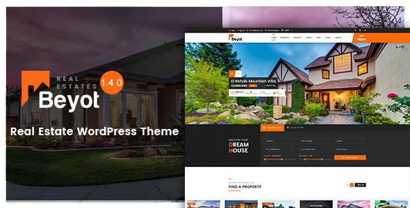 Download Free BEYOT v1.4.0 - WordPress Real Estate Theme - Crack Themes