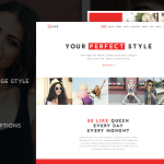 Download Free NRG Fashion v1.4 - Model Agency One Page Beauty Theme