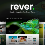 Download Free Rever v1.0.3 - Clean and Simple WordPress Theme