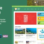 Download Free Save Life v1.2 - Non-Profit, Charity & Donations Theme