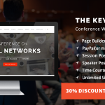 Download Free The Keynote v2.10 - Conference / Event / Meeting Theme