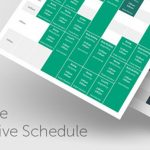 Download Free Timetable Responsive Schedule v5.5
