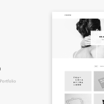 Download Free Vinero v3.0 - Very Clean and Minimal Portfolio Theme