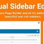 Download Free Visual Sidebar Editor v1.2.5