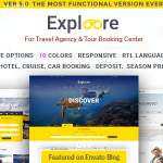 Download Free EXPLOORE v5.0 - Tour Booking Travel WordPress Theme