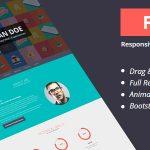 Download Free Flatoo v4.0 - vCard, Resume, Personal WordPress Theme