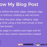 Download Free Follow My Blog Post WordPress Plugin v1.9.2