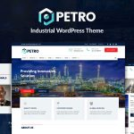 Download Free Petro v2.1.9 - Industrial WordPress Theme