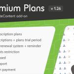 Download Free PrivateContent - Premium Plans add-on v1.26