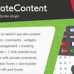 Download Free PrivateContent v7.1 - Multilevel Content Plugin