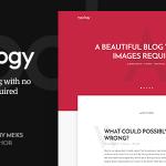 Download Free Typology v1.5.2 - Text Based Minimal WordPress Blog Theme