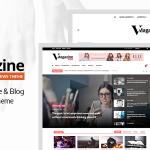 Download Free Vmagazine v1.0.4 - Blog, NewsPaper, Magazine Themes