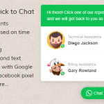 Download Free WhatsApp Click to Chat Plugin for WordPress v1.6